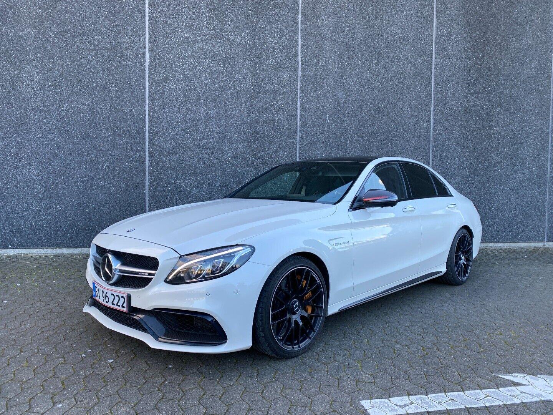 Mercedes C63 4,0 AMG S aut. 4d - 7.233 kr.