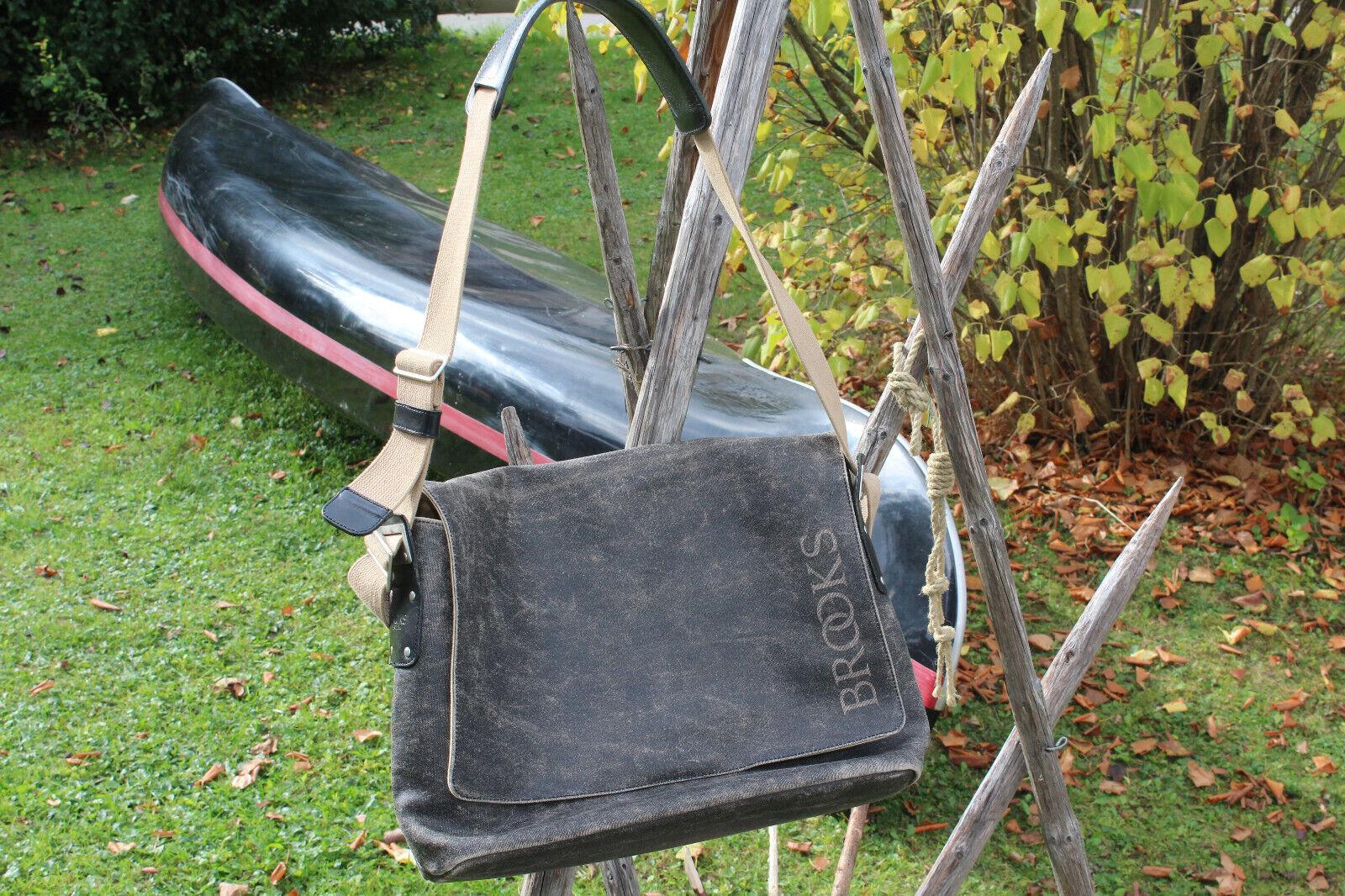 Brooks England Barbican Shoulder Bag Schulter Messenger Fahrrad Kurier Tasche