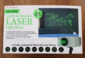 Mr Christmas The Only Lights Amp Sounds Laser Light Show