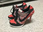 RARE Nike SB Dunk Women's High Heel Sneaker Shoes 2006 Stilettos 8.5