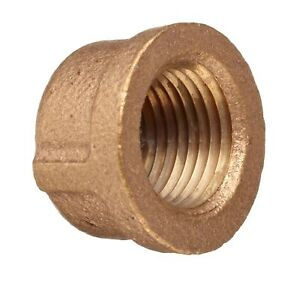 1//2 NPT Male X 1//4 NPT Female Class 125 Hex Bushing Lead Free Brass Pipe Fitting