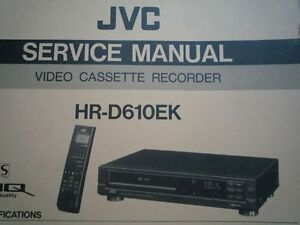 jvc video manuals
