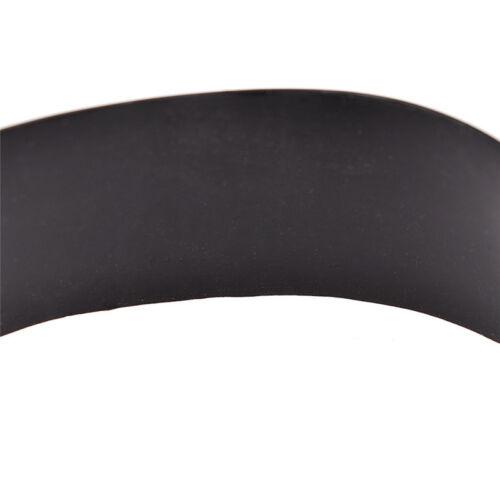 Unisex Black No Pain No Gain Mood Silicone Bracelets Wristband Fashion Jewelry