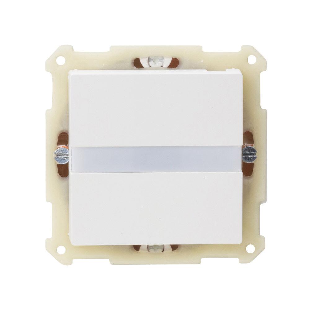 MDT SCN-BWM55.01 Bewegungsmelder/Automatik Schalter, 55mm, UP, Reinweiß matt