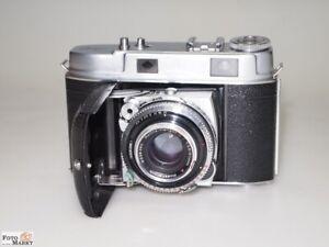 Kodak-Retina-IIc-Objektiv-Heligon-C-1-2-8-50-Streetfotografie-Entfernungsmesser