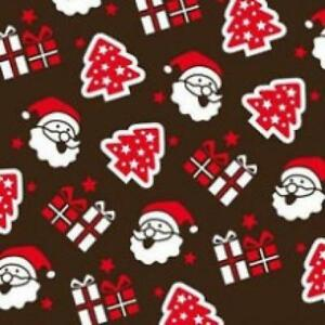 Details About Santa Chocolate Transfer Sheet