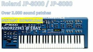 Roland-JP-8000-JP-8080-2300-Patches-Syx-Pat-Mid-Instant-Download