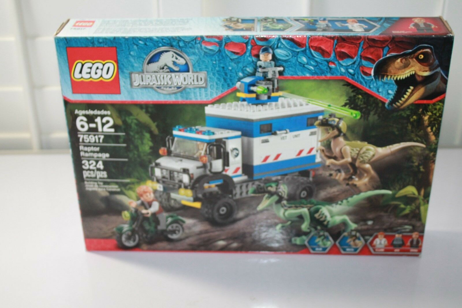LEGO Jurassic World 75917 Raptor Rampage Nuovo Factory Sealed  mint box