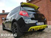 New GENUINE RenaultSport Clio III 197 200 CUP RS rear back spoiler RENAULT SPORT