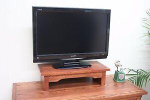 TV Riser Stand - TV Stereo Monitor Printer Laptop Office - Mission Cherry Oak