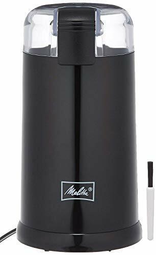 Melitta (Melita) électrique Moulin à Café Noir ECG62-1B
