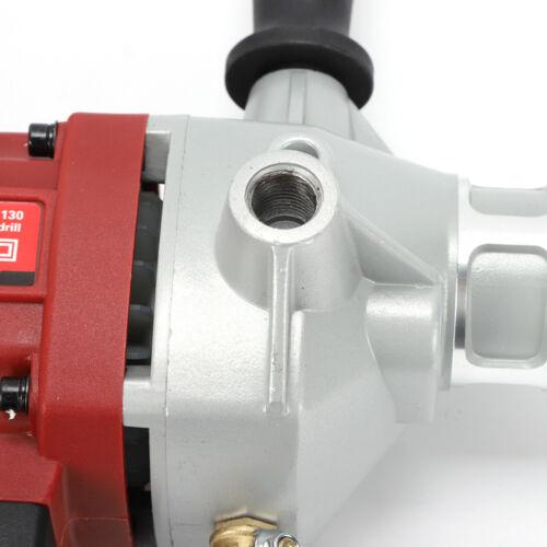 Ø130mm Hand Held Wet//Dry Diamond Core Drill 1600W Concrete Core Drilling Machine