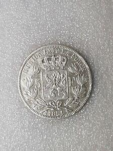 5-francs-belge-1851-Belle-piece