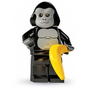 RARE-Lego-Minifig-series-3-Gorilla-costume-guy-suit-party-city-zoo-scene