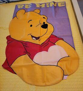 NEW Disney WINNIE the POOH Be Mine FLAG Piglet Garden Outdoor 40x28 Valentine's