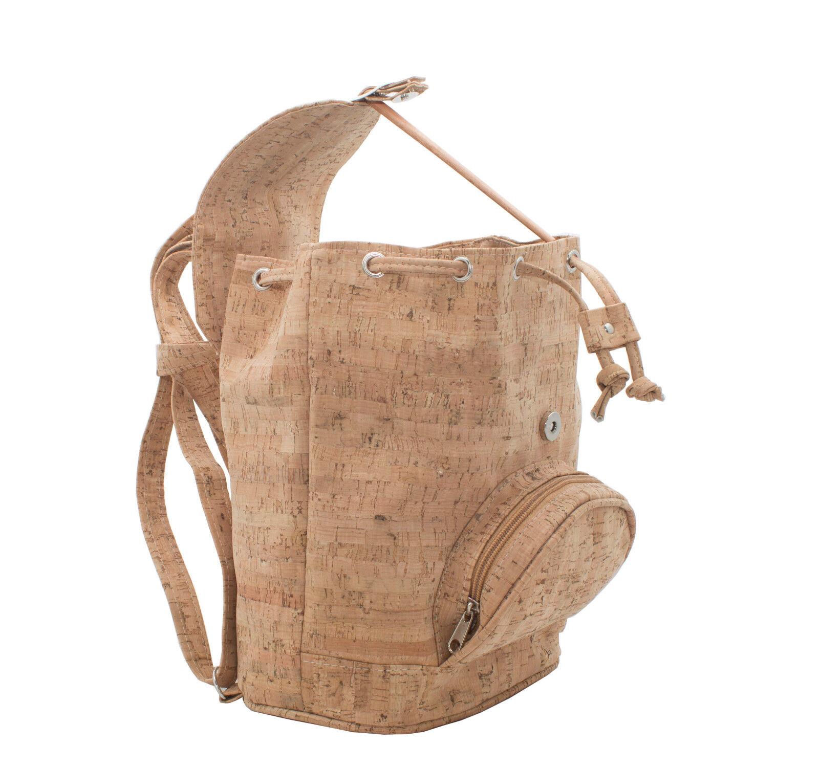 TAGUS OPEN, sac à dos en liège, size moyenne,  eco-friendly. VEGAN