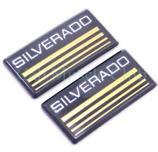 Chevy Suburban Cab Emblem New 2pc Silverado Badge Roof Pillar 88 89 90 91 Ck