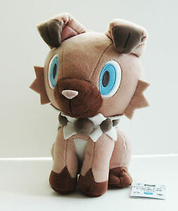 BANPRESTO Pokemon Plush Doll Rockruff Iwanko Mini from Sun /& Moon 37031