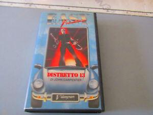 Distretto 13 le brigate della morte (1976) VHS Ed. Easy Video - Jhon Carpenter