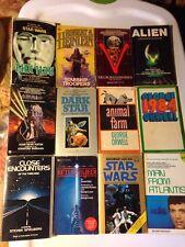 12 PB Sci-Fi Lot MOVIES 1984 THX 1138 KRULL DARK STAR 1st Ed V JEDI ALIEN
