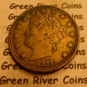 1911 Liberty Head Nickel  #R11 better grade