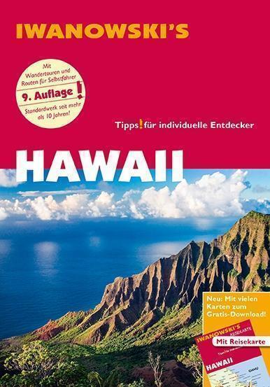 Hawaii Hawai  2017 !! &  Karte UNGELESEN Iwanowski Reiseführer Maui