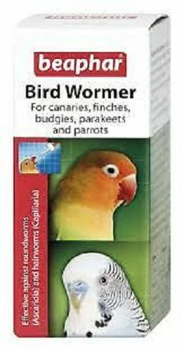Beaphar Loro Ave Wormer Budgie Finch Canarios etc.