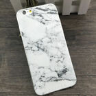 Slim Soft shell Case Cover For iPhone5/ 6/6Plus Chic Granite Marble Texture