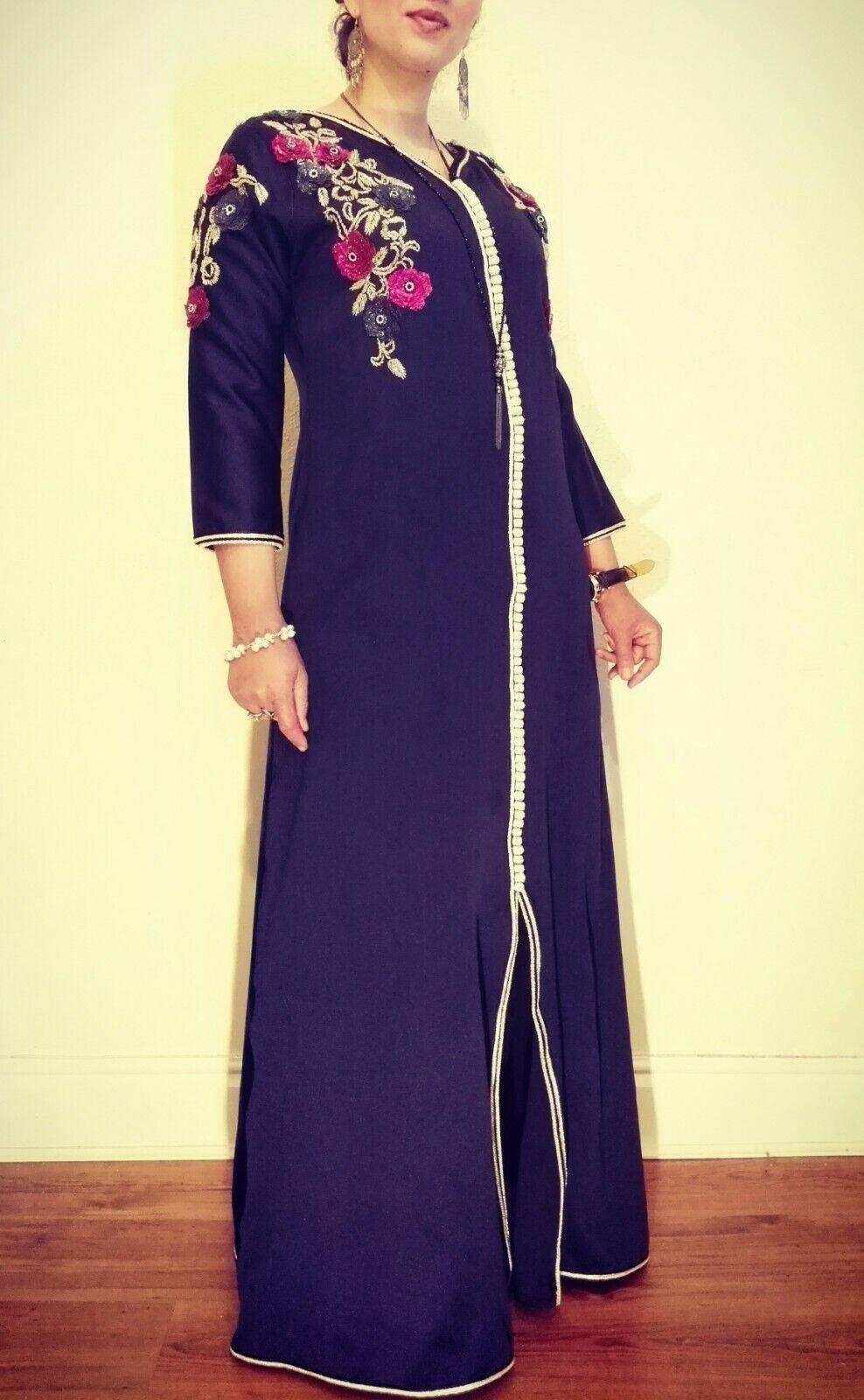 De  Lujo Marroquí Caftán Vestido para Boda asiáticos Caftan Abaya -- venden     tienda en linea