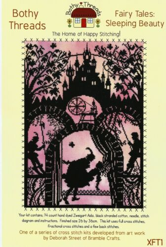 Contes de fées Bothy threads Kim Anderson Love Tree Fleurs cross stitch kits