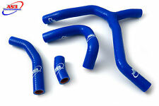 HONDA CRF 450 R 2015-2016 HIGH PERFORMANCE SILICONE RADIATOR HOSES (Y-KIT) BLUE