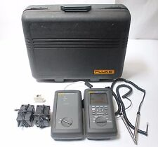 Fluke Networks Dsp 2000 Cable Analyzer With Smart Remote Cat5 Lan Tester