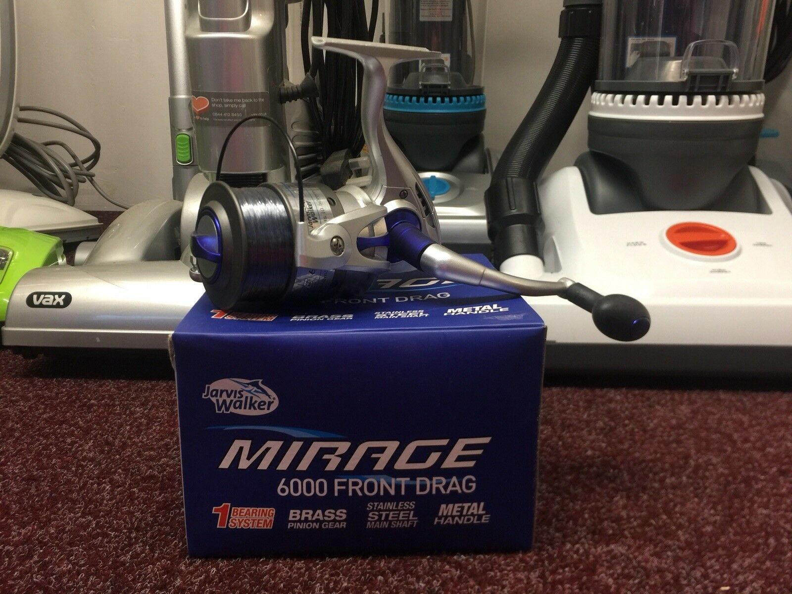 Jarvis Walker Mirage 6000 Fixed Spool Reel Loaded With Line