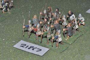 25mm Medievale/inglese-Arcieri 16 Fichi FANTERIA-INF (21867)