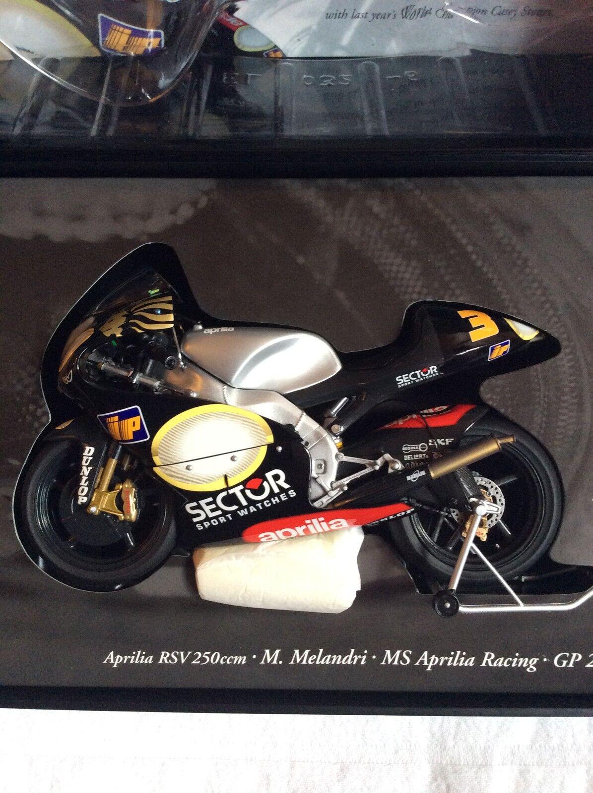 Minichamps 1.12 Scale  Aprilia RSV 250ccm Marco Melandri Year Year Year 2002. 33bea8