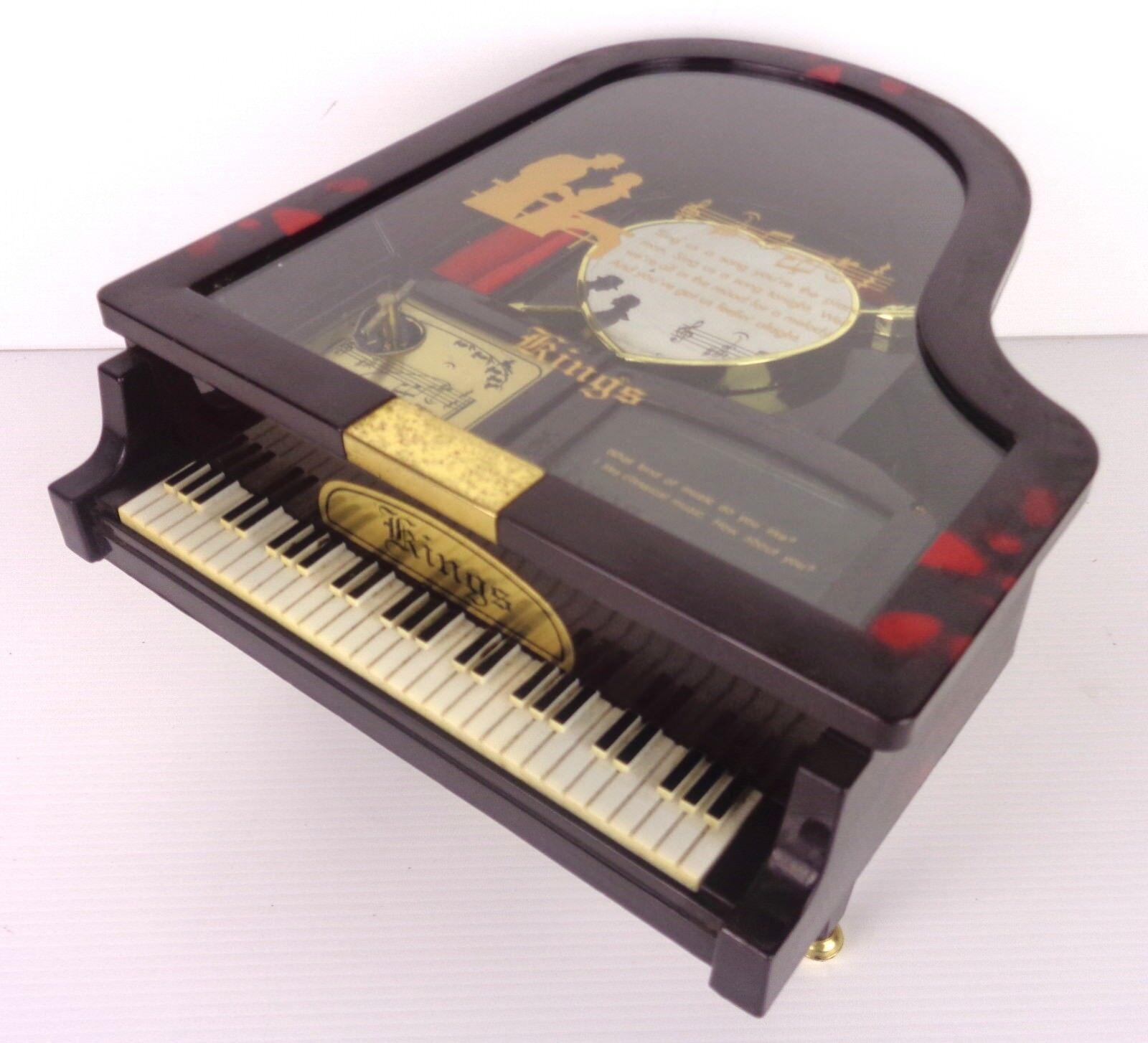 Ringe klavier carillon vintage mit spiegel