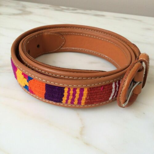 Embroidered Leather Belts Belts