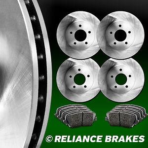 FRONT-REAR-KIT-Reliance-OE-REPLACEMENT-Brake-Rotors-Plus-Ceramic-Pads-C1026