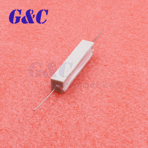 5pcs Ceramic Resistor Cement 10W 5 ohm 5/% Wirewound Resistor DIY