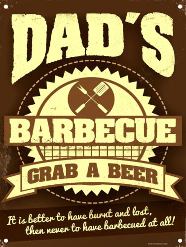 Retro Vintage Metal Fridge Magnet//Sign//Plaque Pub//Bar Man Cave Dads BBQ