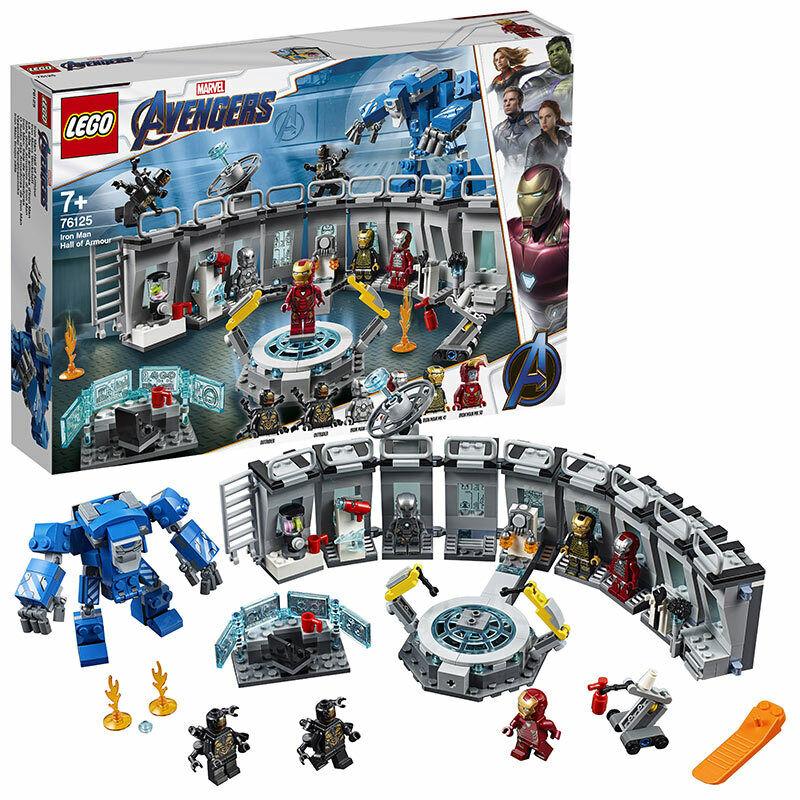 LEGO  SUPER HEROES 76125 IRON uomo Htutti of Armor età 7+ 524pcs  prezzi più convenienti