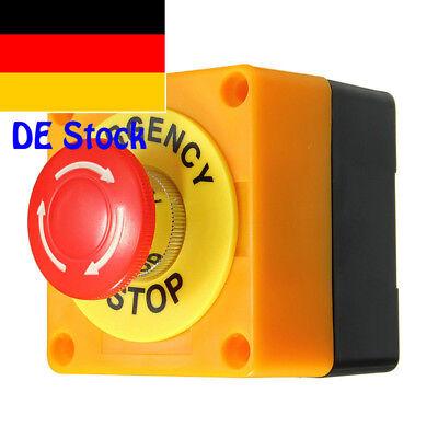 NOT-AUS Pilztaster Notausschalter Druck Notaus mit Gehäuse IP65 Pilzschalter