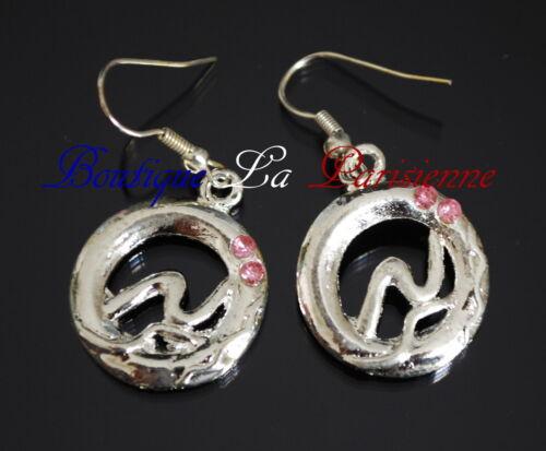 Set 2 Tlg Kette Ohrringe Schmuckset Collier Halskette Anhänger Emaille Paris