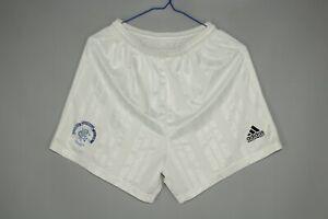 RANGERS GLASGOW FC 1992 1993 HOME FOOTBALL SHORTS ADIDAS VINTAGE SIZE 34