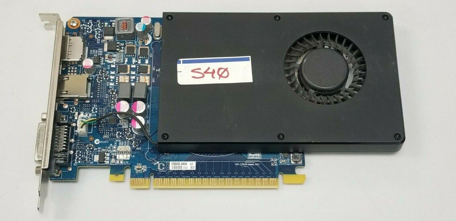 DELL Nvidia GeForce GTX 645 DE 1GB DDR5 Gaming Video Card DVI HDMI PCI-E #S40