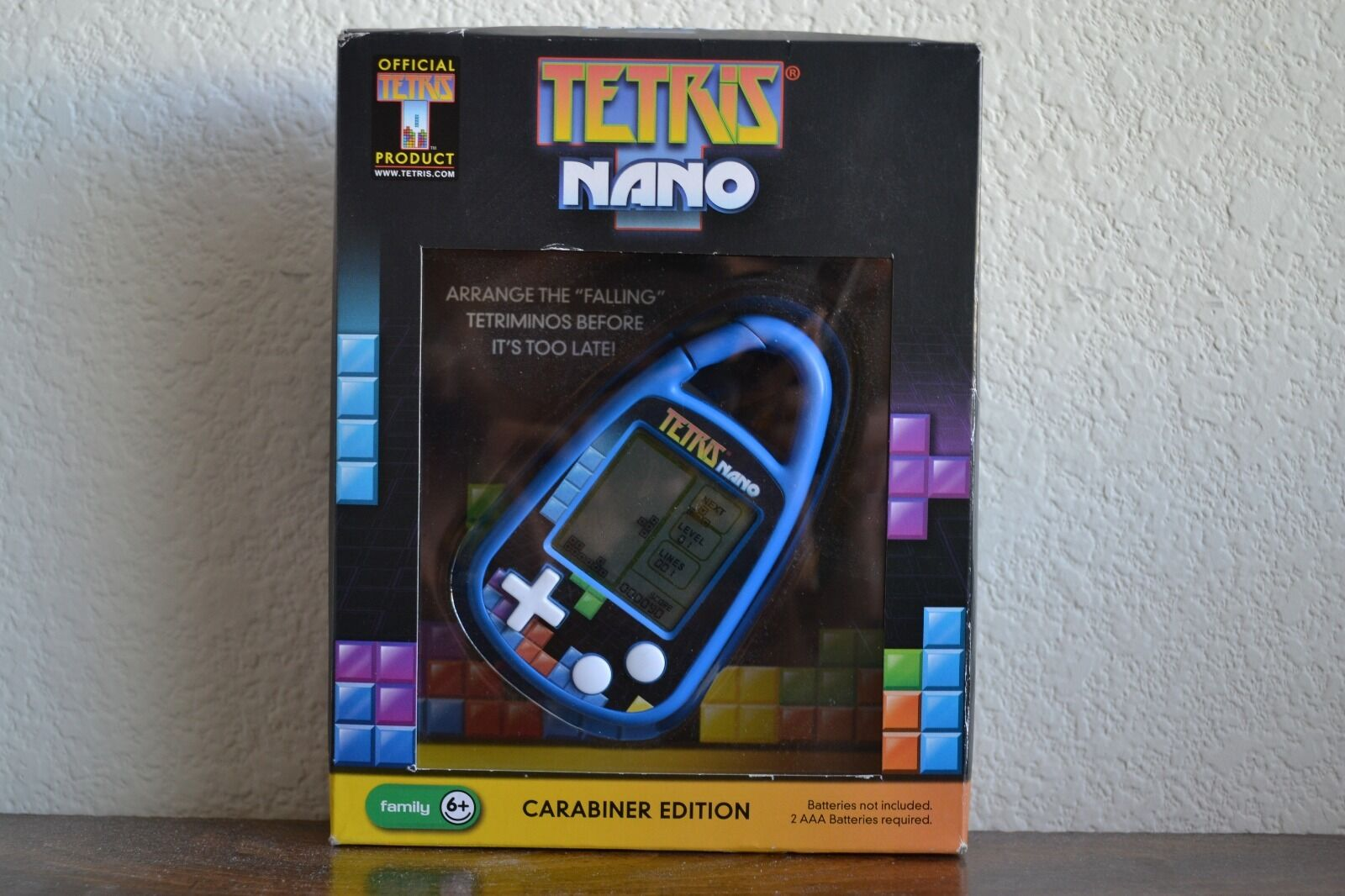Brand New In Box Tetris Nano Carabiner Edition