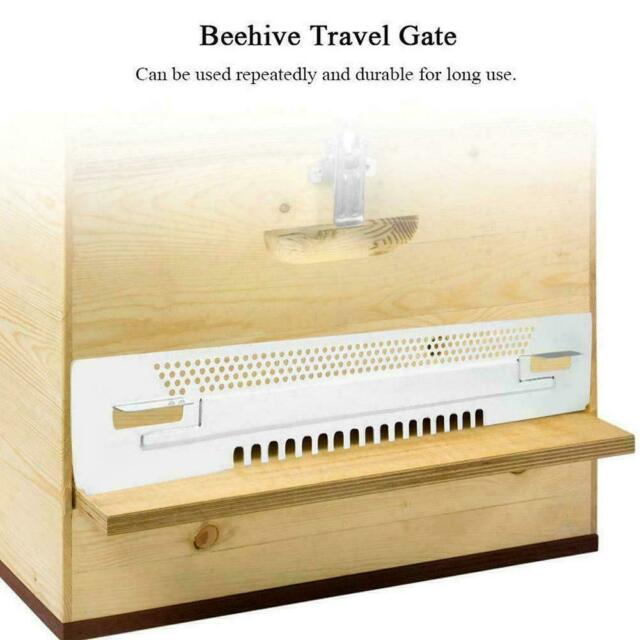 Bee Hive Sliding Mouse Guards Travel Gate Beekeeping Tool Breeding Hot Equi B0Z5