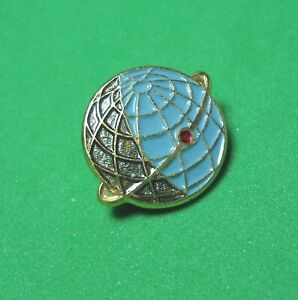 USSR-Vintage-Soviet-Russian-Space-pin-badge-Earth-satellite