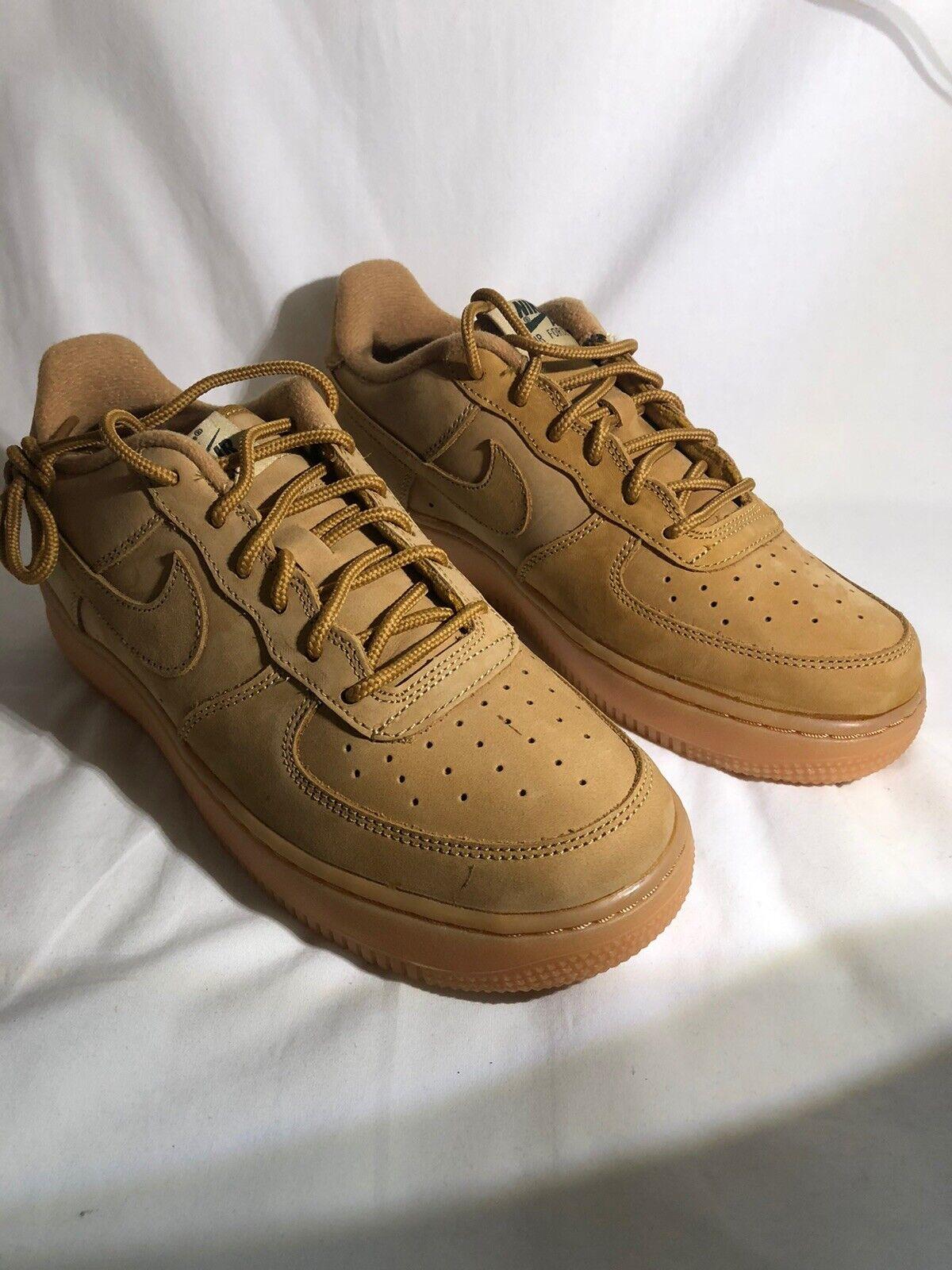"Nike Air Force 1 Winter PRM ""flax"" GS"