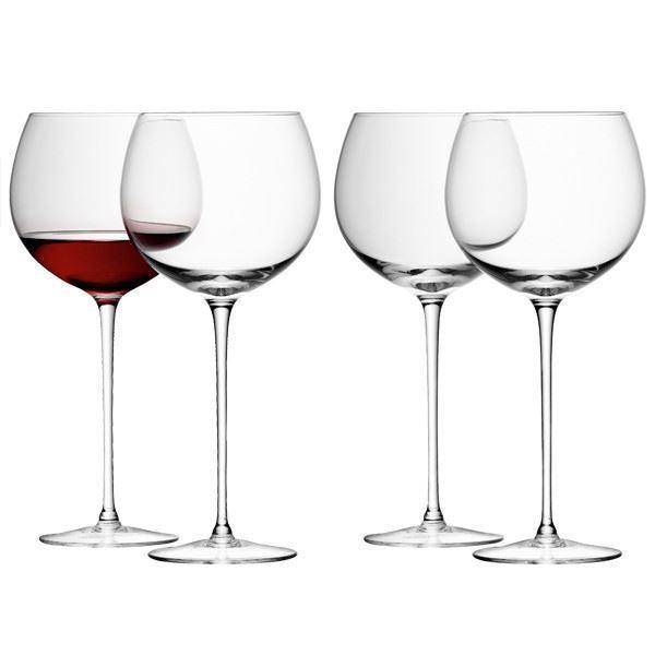 LSA Vin Vin Clair Verre 0.57 L (lot de 4)